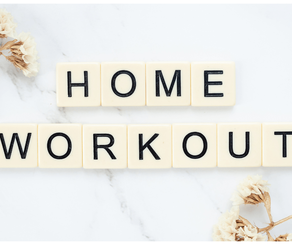 Home workout wording